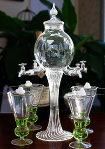 Glass Rozier Absinthe Fountain